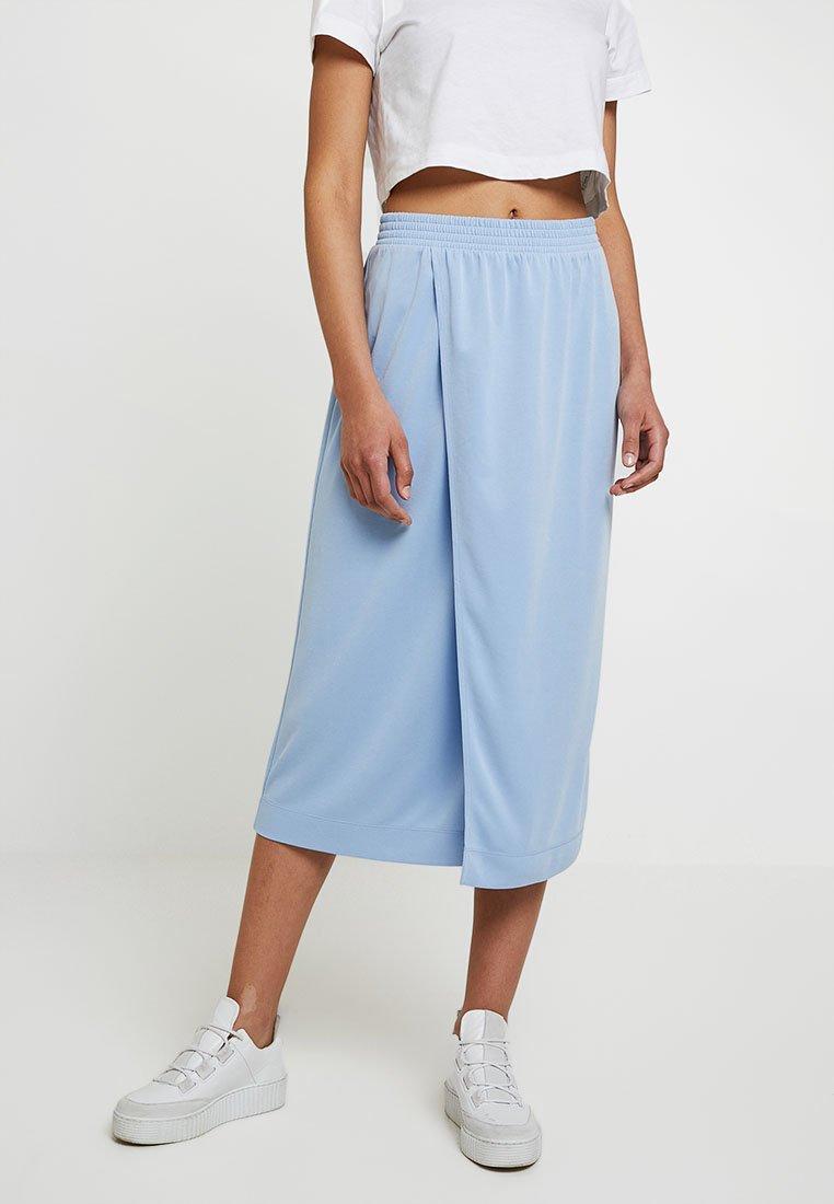 Monki - ELVA SKIRT UNIQUE - Maxi skirt - blue