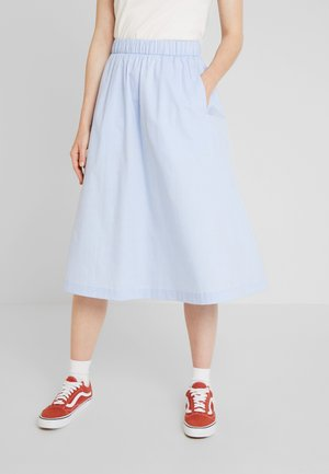 PILO SKIRT - A-linjainen hame - light blue