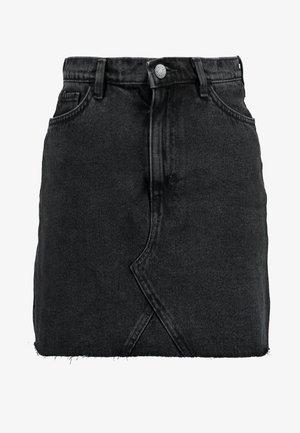 ARIA SKIRT - Jeansshort - black dark