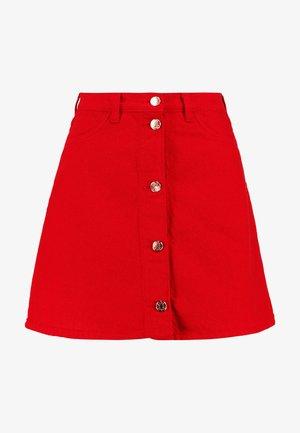 MARY SKIRT - Áčková sukně - dark red