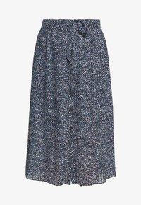Monki - REGINA PLISSE - A-line skirt - black - 3