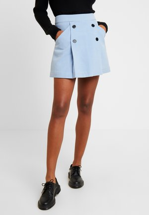 MIKKI SKIRT UNIQUE - Jupe trapèze - blue