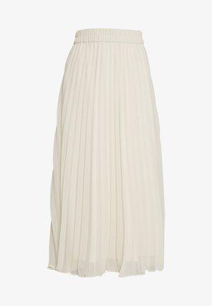 LAURA PLISSÉ SKIRT - A-line skjørt - beige dusty light