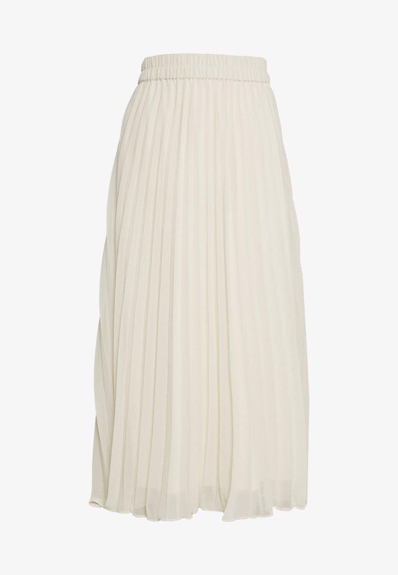 Monki - LAURA PLISSÉ SKIRT - A-line skjørt - beige dusty light