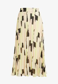 Monki - LAURA PLISSÉ SKIRT - A-line skjørt - orange dusty light - 3