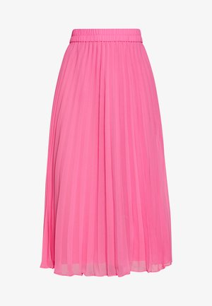 LAURA PLISSÉ SKIRT - A-line skirt - pink