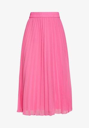 LAURA PLISSÉ SKIRT - Spódnica trapezowa - pink