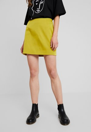 LUCY SKIRT - Falda acampanada - green medium