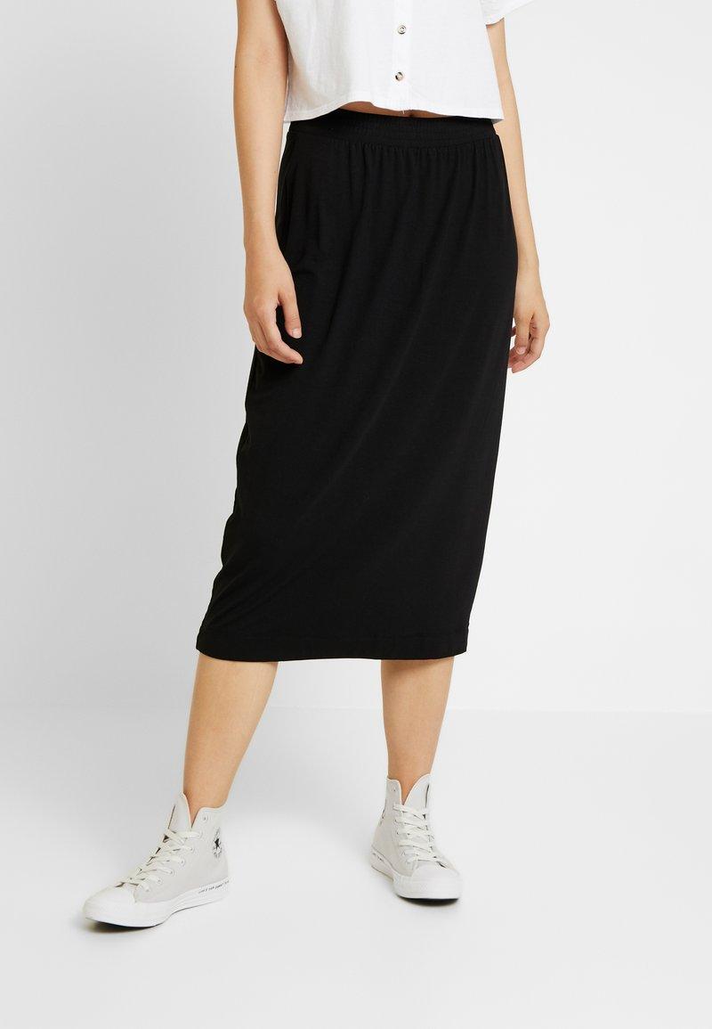 Monki - KINA SKIRT - Pencil skirt - black