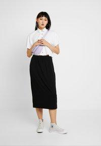 Monki - KINA SKIRT - Pencil skirt - black - 1