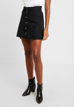 MARY SKIRT - A-linjekjol - black