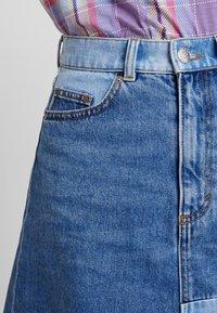 Monki - MAJA SKIRT - A-line skirt - blue-denim - 3