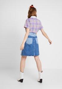 Monki - MAJA SKIRT - A-line skirt - blue-denim - 2