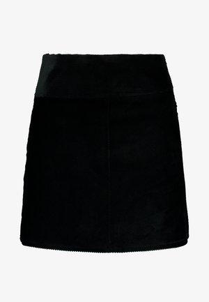 QUINN SKIRT - Áčková sukně - black dark