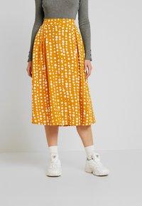 Monki - SIGRID SKIRT - A-line skirt - yellow dark unique - 0