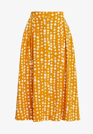 SIGRID SKIRT - A-line skirt - yellow dark unique