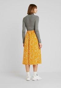 Monki - SIGRID SKIRT - A-line skirt - yellow dark unique - 2