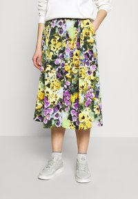 Monki - SIGRID SKIRT - A-line skirt - yellow light - 0