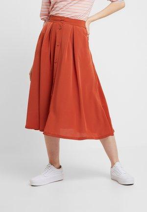 SIGRID SKIRT - Áčková sukně - rust