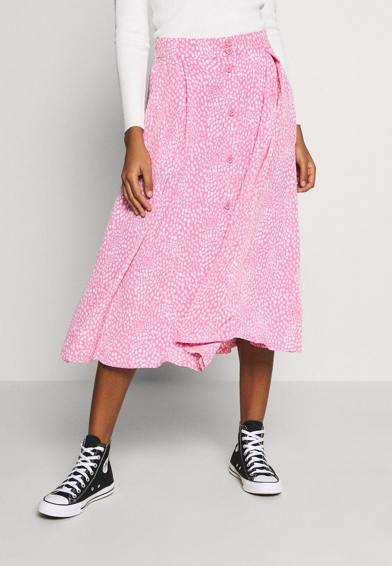 Monki - SIGRID SKIRT - A-lijn rok - pink medium unique