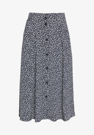 SIGRID SKIRT - A-lijn rok - blue dark