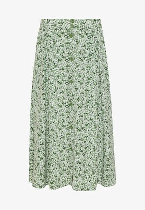 SIGRID SKIRT - A-Linien-Rock - green