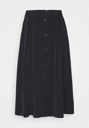SIGRID SKIRT - A-line skirt - black dark solid