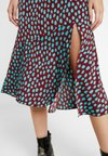 Monki - UMI SKIRT - A-line skjørt - wine
