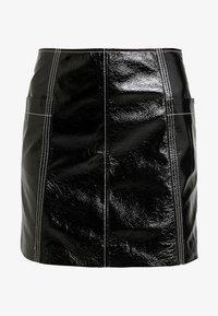 Monki - LOVA SKIRT - Minifalda - black - 3