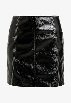 LOVA SKIRT - Minifalda - black