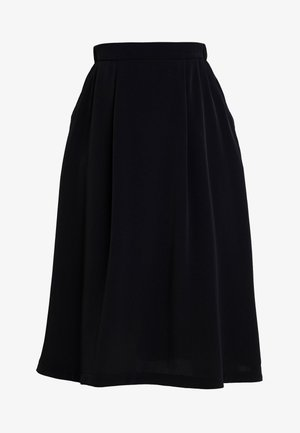 PATRICIA SKIRT - A-line skirt - black dark unique