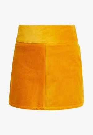 QUINN SKIRT - Minigonna - yellow dark