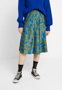 Monki - YANG SKIRT - A-line skirt - green - 0