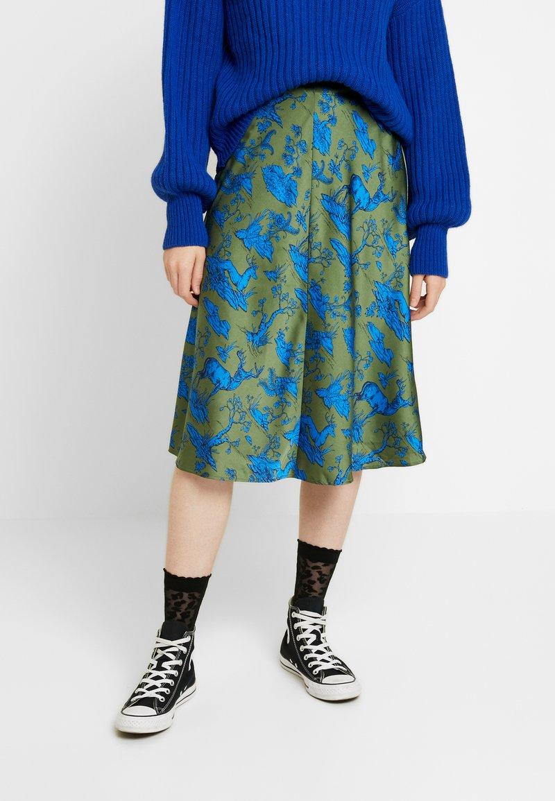 Monki - YANG SKIRT - A-line skirt - green
