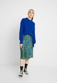 Monki - YANG SKIRT - A-line skirt - green - 1