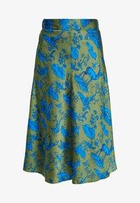 Monki - YANG SKIRT - A-line skirt - green - 4