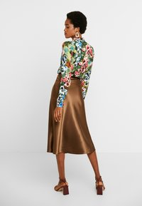 Monki - BRISA SKIRT - A-lijn rok - brown - 2