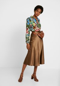 Monki - BRISA SKIRT - A-lijn rok - brown - 1