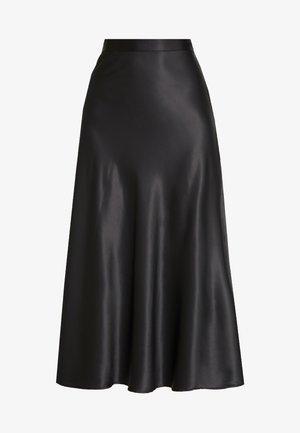 BRISA SKIRT - Áčková sukně - black
