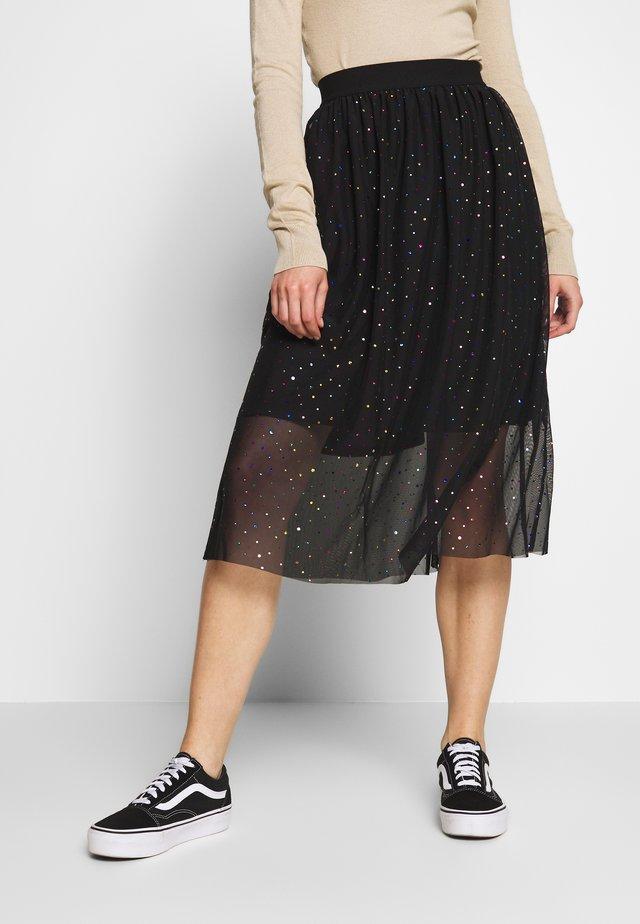 TAYLA SKIRT - Spódnica ołówkowa  - black