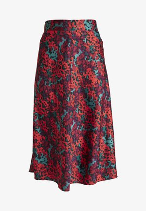 YANG SKIRT - Falda acampanada - red