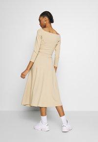 Monki - BELINDA SKIRT - A-line skirt - beige medium dusty - 2