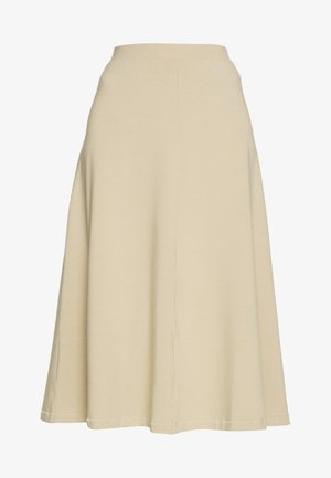 BELINDA SKIRT - Spódnica trapezowa - beige medium dusty