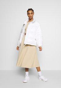 Monki - BELINDA SKIRT - A-line skirt - beige medium dusty - 1