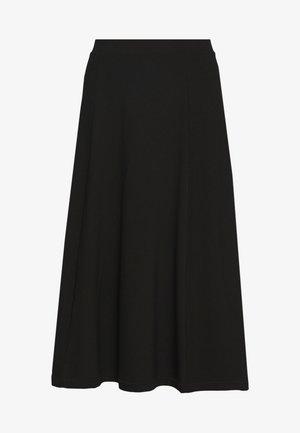 BELINDA SKIRT - A-linjainen hame - black