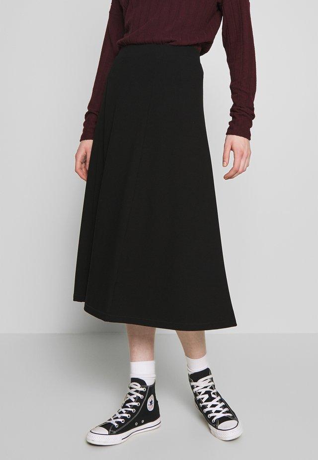 BELINDA SKIRT - A-line skirt - black