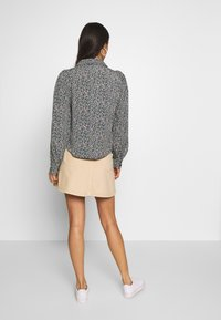 Monki - MARY SKIRT - Gonna a campana - light beige - 2