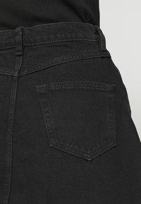 Monki - MARY SKIRT - A-line skirt - dark black - 4
