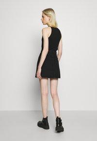 Monki - MARY SKIRT - A-line skirt - dark black - 2