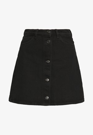 MARY SKIRT - A-lijn rok - dark black